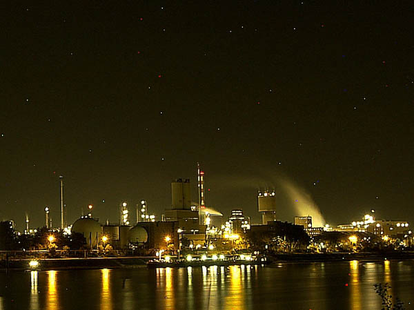 BASF Produktionsgebäude C410 in Ludwigshafen