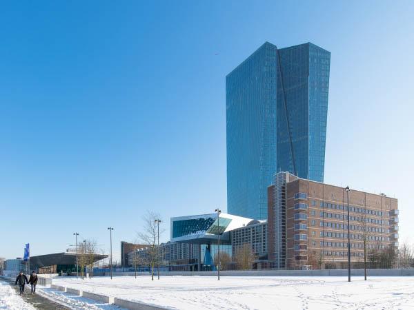 EZB in Frankfurt am Main: Beschichtungsarbeiten
