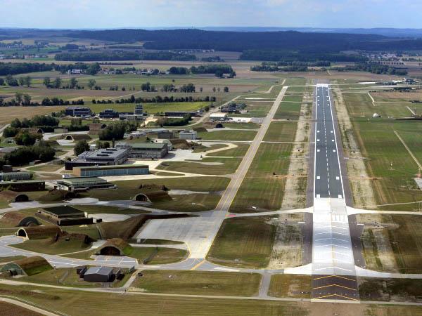 NATO-Flugplatz in Neuburg a. d. Donau
